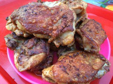 Grillezett csirkecomb - Otthon ízei
