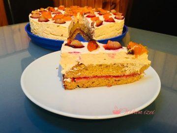 Sütőtök torta szilvakrémmel - Otthon ízei